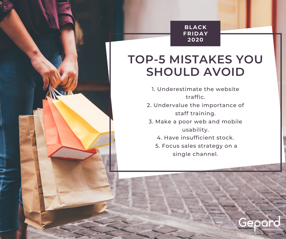 Top-5 Mistakes You Should Avoid This Black Friday