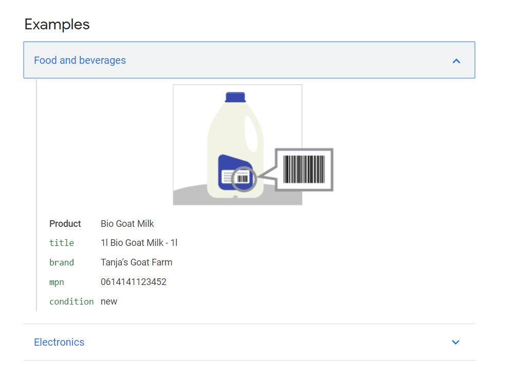 mpn google shopping