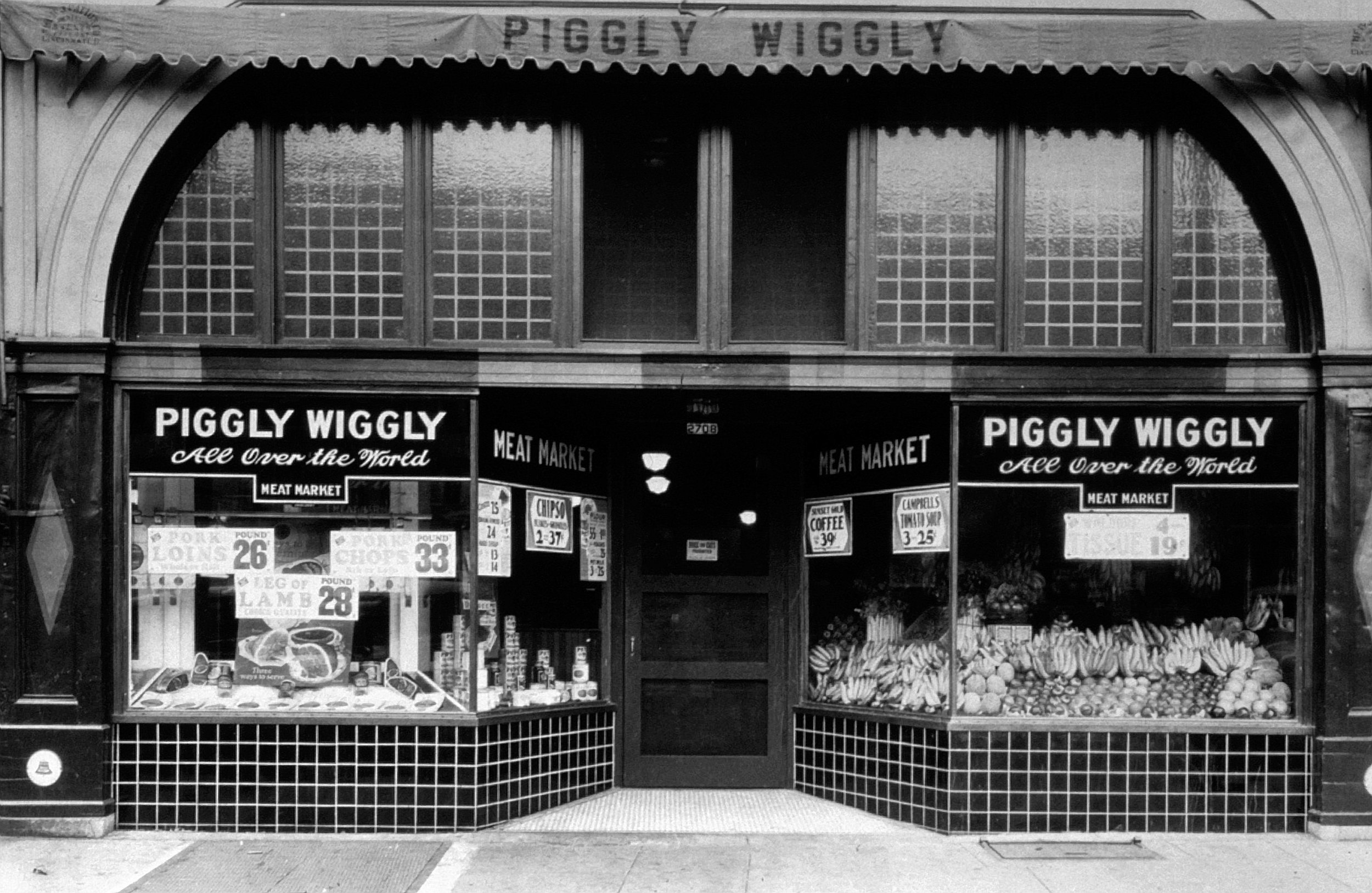 evolution of retail first supermarket piggly wiggly